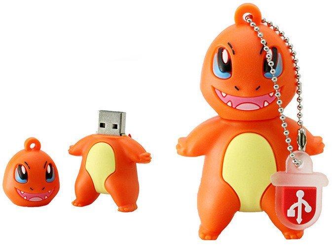 PENDRIVE CHARMANDER Pokemon GO USB FlashDrive 16GB