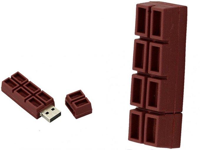 PENDRIVE CZEKOLADA SŁODYCZ USB Flash PAMIĘĆ 16GB