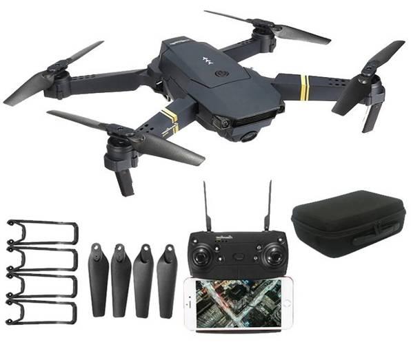 Dron JY019 WiFi FPV Kamera 2MP Kieszonkowy LED