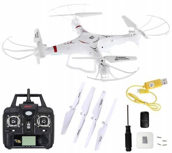 Dron SkyTech M68R Max Fly Kamera Lot 3D Karta SD