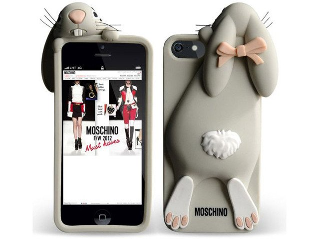 ETUI CASE FUTERAŁ Apple iPhone 7 Królik MOSCHINO