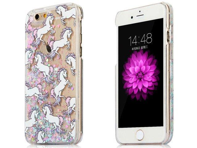 ETUI FUTERAŁ OBUDOWA iPhone 5 5S SE Jednorożce