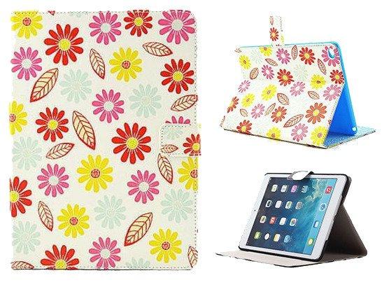 ETUI POKROWIEC Case Futerał iPad Air 2 KWIATY