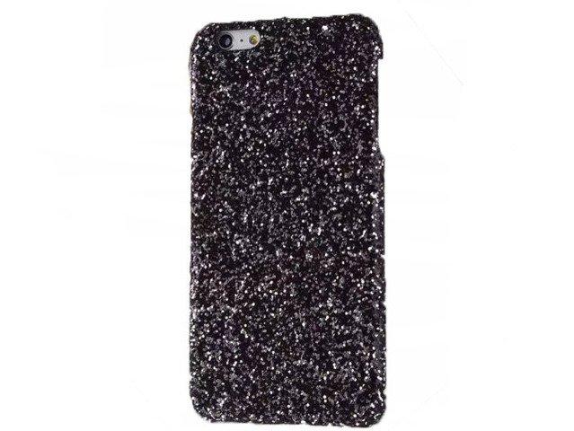 Etui Case Futerał iPhone 7 Czarny Brokat LŚNIĄCA