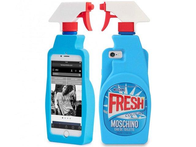 Etui Case Futerał iPhone 7 MOSCHINO PŁYN FRESH