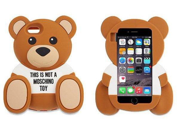 Etui Case Obudowa Futerał iPhone 6/6s MIŚ MOSCHINO