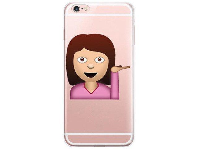 Etui Case Silikon iPhone 6/6s Kim Kardashian