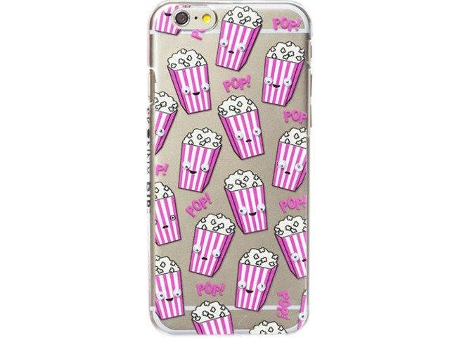 Etui Case Silikon iPhone 6/6s PLUS POPCORN