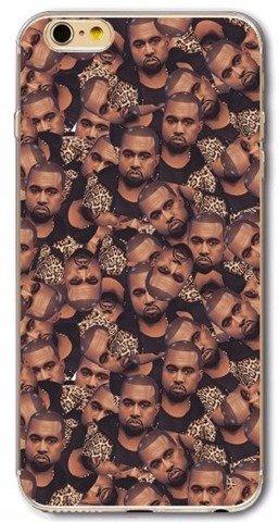 Etui Case Silikon iPhone 7 8 PLUS Kanye West