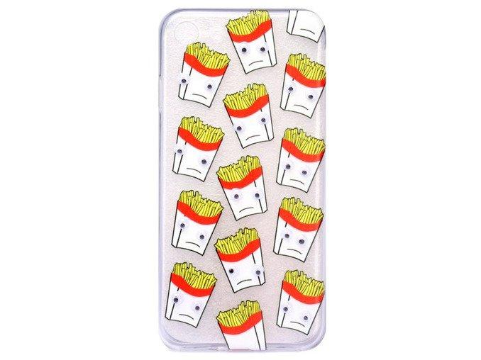 Etui Case Silikon iPhone 7 PLUS Obudowa FRYTKI