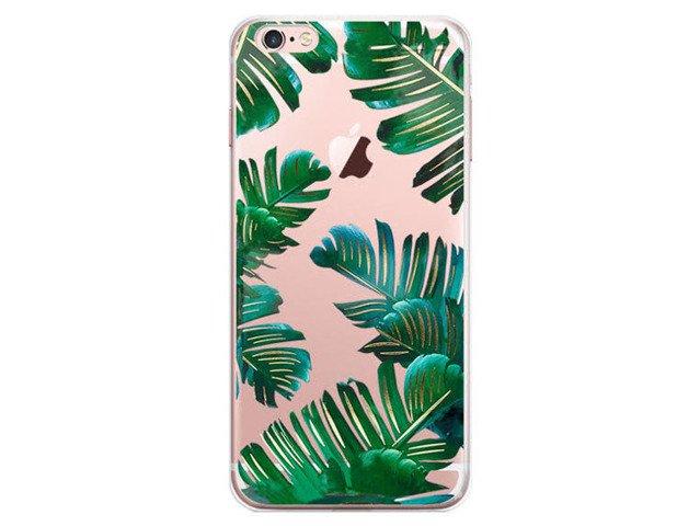 Etui Obudowa Futerał iPhone5/5s/SE Kwiaty Paprocie