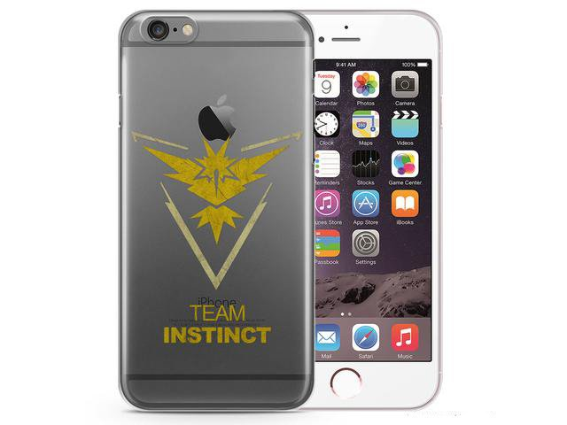 Futerał iPhone 5/5s/SE Case Pokemon GO Team VALOR