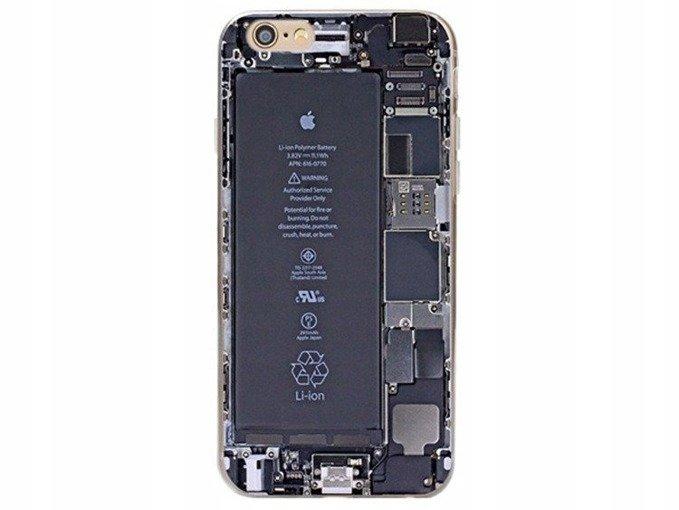 Obudowa Case Etui iPhone 5/5s WEWNĘTRZNY TYŁ