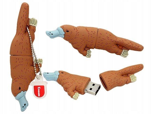 PENDRIVE BÓBR TAMA ZWIERZE Flash PAMIĘĆ USB 64GB