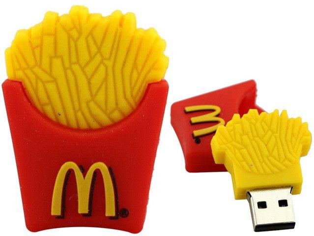 PENDRIVE FRYTKI McDonald's Pamięć Flash USB 16GB