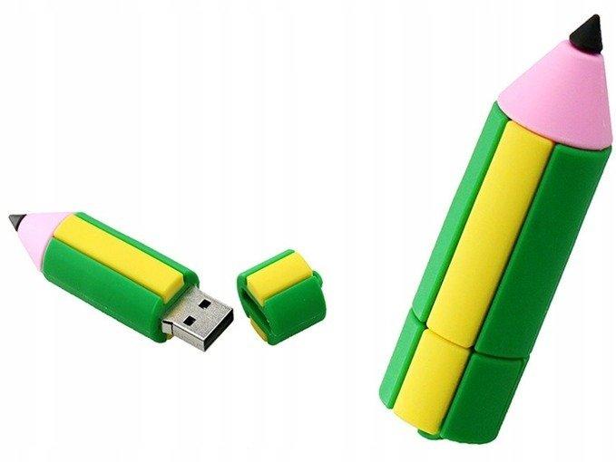 PENDRIVE KREDKA OŁÓWEK KOLOR USB Flash PAMIĘĆ 64GB