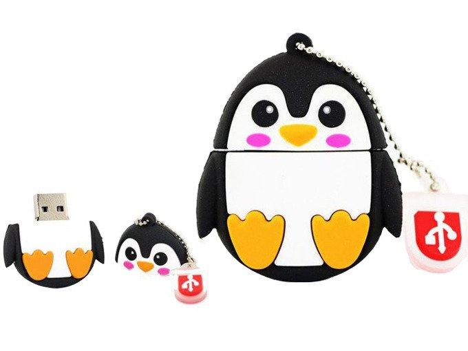 PENDRIVE PINGWIN ZWIERZĘ PAMIĘĆ FLASH USB 16GB