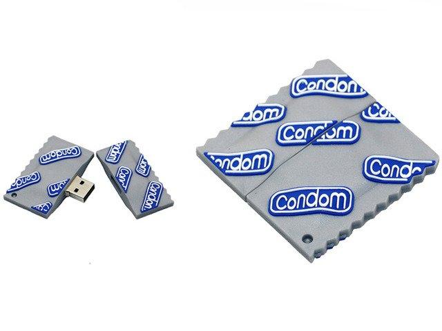 PENDRIVE PREZERWATYWA Condom USB Flash PREZENT 8GB