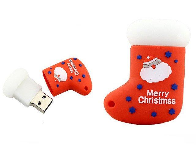PENDRIVE SKARPETA Święty Mikołaj ŚWIĘTA USB 64GB
