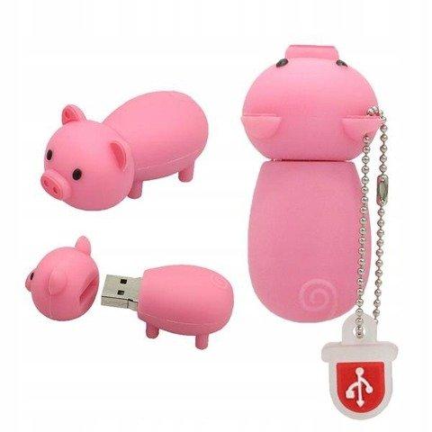 PENDRIVE ŚWINKA PROSIE ŚWINIA PIG PAMIĘĆFLASH 32GB
